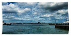 Boston Harbor Beach Towel