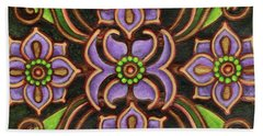 Botanical Mandala 6 Beach Towel