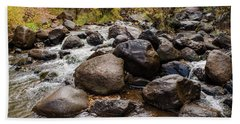 Boulders In Creek Beach Towel