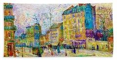 Boulevard De Clichy - Digital Remastered Edition Beach Towel