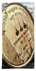 Bourbon Barrel Beach Towel
