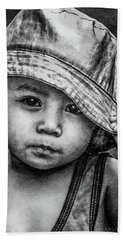 Beach Towel featuring the photograph Boy-oh-boy by Michael Arend