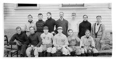 Boys School Baseball  1906 Harris  Ewing Beach Towel