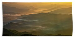Brasstown Bald Mists Beach Towel