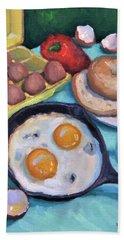 Breakfast Beach Sheet
