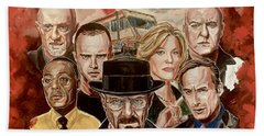 Breaking Bad Family Portrait Beach Towel