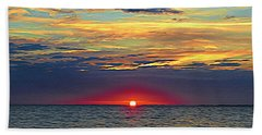 Breaking Dawn Beach Towel