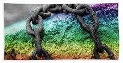 Breaking The Chains Beach Sheet
