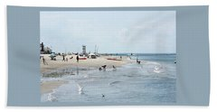 Breezy Point Lighthouse Summer Days Beach Towel