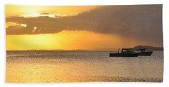 Brewers Bay Sundown Beach Towel