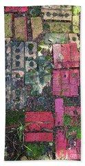 Brick Composition 3 Beach Towel