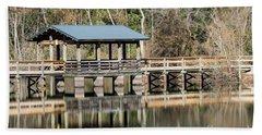 Brick Pond Park - North Augusta Sc Beach Towel