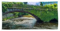 Bridge Of Flowers Beach Sheet
