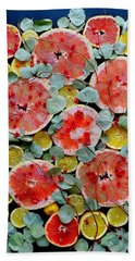 Brighter Days Citrus Beach Towel