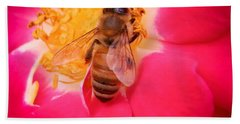 Brilliant Bee Beach Towel