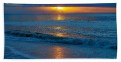 Brilliant Sunrise Beach Towel