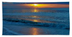 Brilliant Sunrise Beach Towel