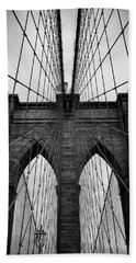 Brooklyn Bridge Wall Art Beach Towel