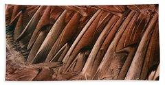 Brown Ladders/steps Beach Towel