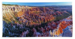 Bryce Canyon Np - Sunrise On Another World Beach Towel