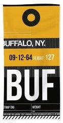 Buf Buffalo Luggage Tag II Beach Towel