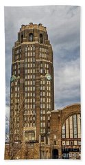 Buffalo Central Terminal Buffalo Ny. Beach Towel