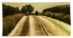 Buggy At Golden Hour Beach Towel