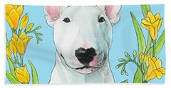 Bull Terrier Ivan Beach Towel
