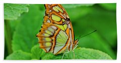 Butterfly Leaf Beach Towel