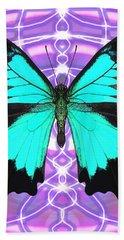 Butterfly Patterns 19 Beach Towel