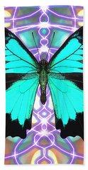Butterfly Patterns 20 Beach Towel