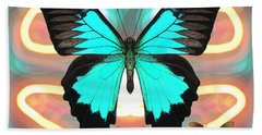 Butterfly Patterns 21 Beach Towel