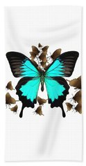 Ulysses Butterfly All A Flutter Beach Towel