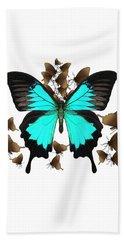 Butterfly Patterns 25 Beach Towel