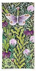 Butterfly Tapestry Design Beach Towel