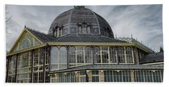 Beach Towel featuring the photograph Buxton Octagon Hall At The Pavilion Gardens by Scott Lyons