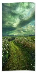 Beach Towel featuring the photograph By The By by Phil Koch