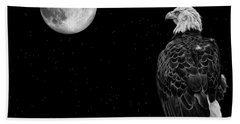 By The Light Of The Moon Beach Towel