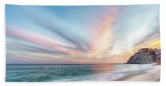 Beach Towel featuring the photograph Cabo San Lucas Beach Sunset Mexico by Nathan Bush