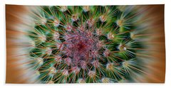 Beach Towel featuring the photograph Cactus Cooler by John Rodrigues
