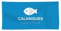 Calanques Beach Towel