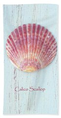 Calico In Pink Beach Towel
