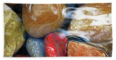 Calming Stones Beach Sheet