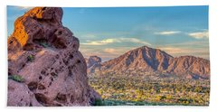 Camelback Mountain  Beach Towel
