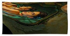 Canary Seaweed Beach Towel