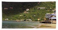 Beach Towel featuring the photograph Cane Garden Bay by Tony Murtagh