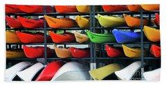 Canoe Colours Beach Towel