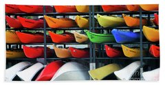Canoe Colours Beach Sheet