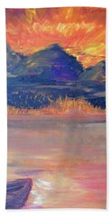 Canoe Trips Beach Towel