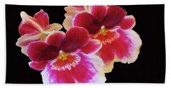 Canvas Violets Beach Sheet